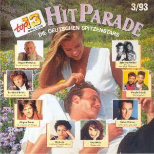 Top 13 Music-Club - Hitparade 3/93 - Die Deutschen Spitzenstars - Cover