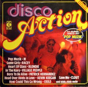 Disco Action - Cover