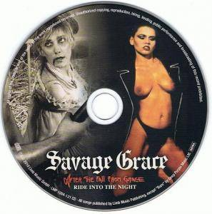 Savage Grace: After The Fall From Grace / Ride Into The Night (CD) - Bild 3