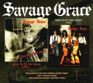Savage Grace: After The Fall From Grace / Ride Into The Night (CD) - Bild 1