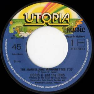 "Doris D. & The Pins: The Marvellous Marionettes (7"") - Bild 3"