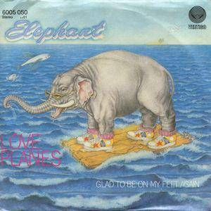 Elephant: Love Planes - Cover