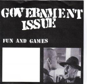 Cover - Government Issue: Fun And Games