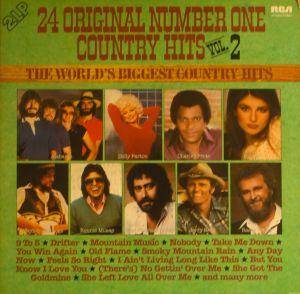 Cover - Razzy Bailey: 24 Original Number One Country Hits Vol. 2