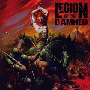 Legion Of The Damned: Slaughtering... (CD + 2-DVD) - Bild 1