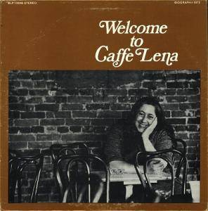 Welcome To Caffe Lena - Cover