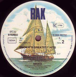 Smokie: Greatest Hits (LP) - Bild 4