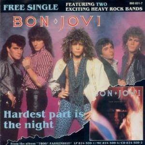Bon Jovi: Hardest Part Is The Night - Cover