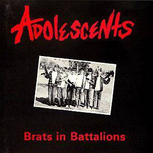 Adolescents: Brats In Battalions - Cover