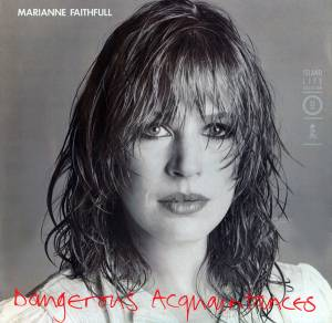Cover - Marianne Faithfull: Dangerous Acquaintances