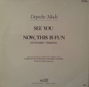 "Depeche Mode: See You (12"") - Bild 2"