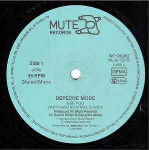 "Depeche Mode: See You (12"") - Bild 3"