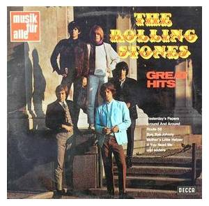 The Rolling Stones: Great Hits (Decca/Nova Records) - Cover