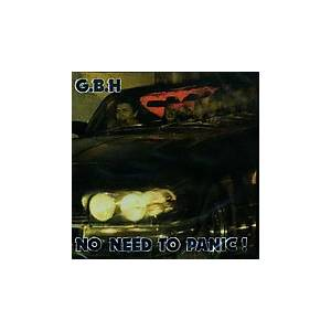 GBH: No Need To Panic! - Cover