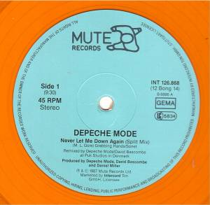 "Depeche Mode: Never Let Me Down Again (12"") - Bild 2"