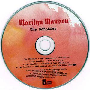 Marilyn Manson: The Nobodies (Single-CD) - Bild 3