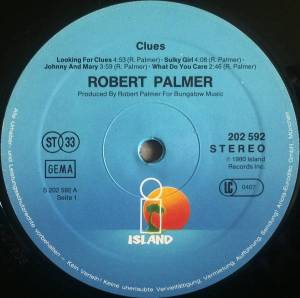 Robert Palmer: Clues (LP) - Bild 3