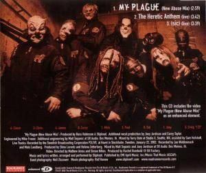 Slipknot: My Plague (Single-CD) - Bild 2