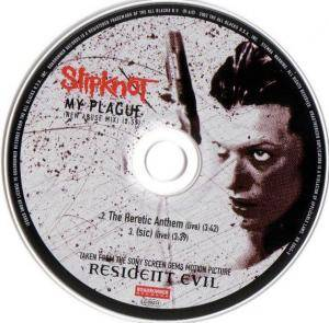 Slipknot: My Plague (Single-CD) - Bild 3