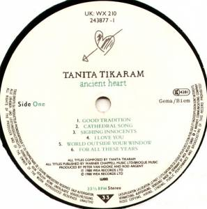Tanita Tikaram: Ancient Heart (LP) - Bild 5