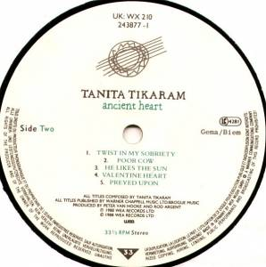 Tanita Tikaram: Ancient Heart (LP) - Bild 6