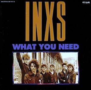 INXS: What You Need - Cover