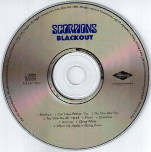 Scorpions: Blackout (CD) - Bild 4
