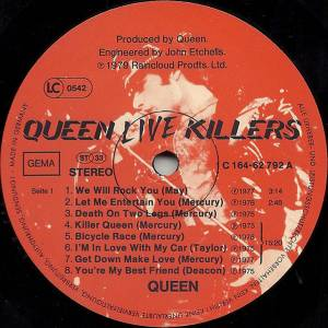 Queen: Live Killers (2-LP) - Bild 7