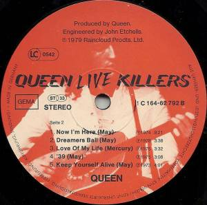 Queen: Live Killers (2-LP) - Bild 8
