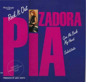 Pia Zadora: Rock It Out - Cover