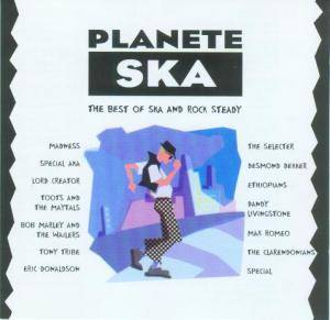 Cover - Clarendonians, The: Planete Ska