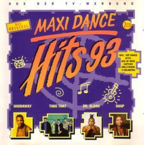 Cover - Amadin: Maxi Dance Hits '93