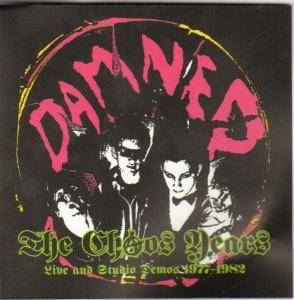 The Damned: Chaos Years Live And Studio Demos 1977-1982, The - Cover