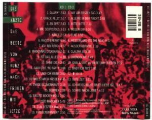 Die Ärzte: Das Beste Von Kurz Nach Früher Bis Jetze (2-CD) - Bild 2