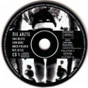 Die Ärzte: Das Beste Von Kurz Nach Früher Bis Jetze (2-CD) - Bild 3
