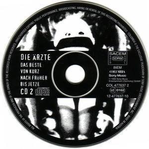 Die Ärzte: Das Beste Von Kurz Nach Früher Bis Jetze (2-CD) - Bild 4