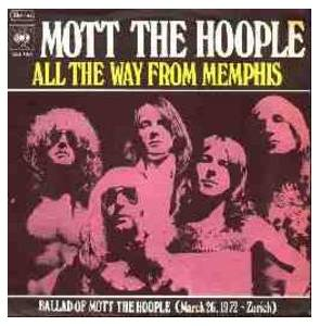 Cover - Mott The Hoople: All The Way From Memphis