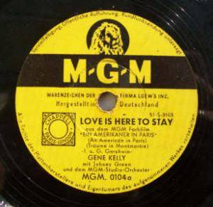 Cover - Gene Kelly: Love Is Here To Stay