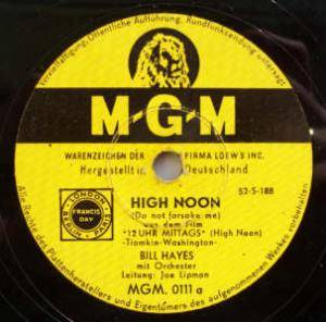 Cover - Bill Hayes: High Noon