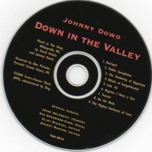 Cover - Johnny Dowd: Down In The Valley