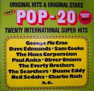 Pop 20 - Twenty International Super Hits - Cover