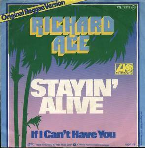 Richard Ace: Stayin Alive - Cover