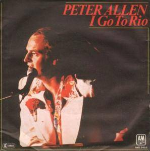 Cover - Peter Allen: I Go To Rio