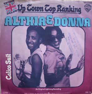 Cover - Althea & Donna: Up Town Top Ranking