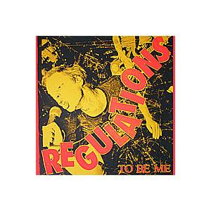 Regulations: To Be Me - Cover