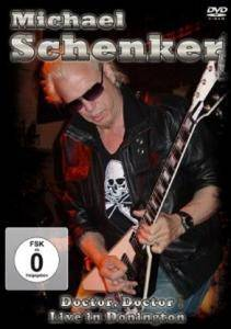 Cover - Michael Schenker: Doctor, Doctor Live In Donington