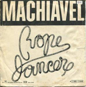 Cover - Machiavel: Rope Dancer