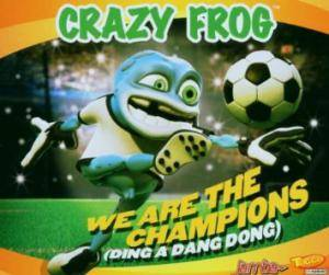 Cover - Crazy Frog: We Are The Champions (Ding A Dang Dong)