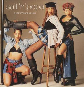 Salt'N'Pepa: None Of Your Business - Cover