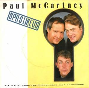 Paul McCartney: Spies Like Us - Cover